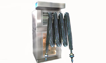 Heating elements for bakery equipment