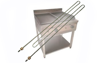 Heating elements for catering equipment